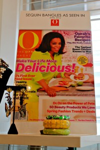 Sequin bangles Oprah