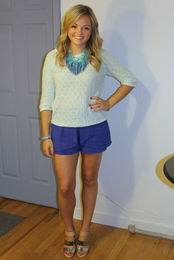 Bright Blue Shorts Bright Blue 3