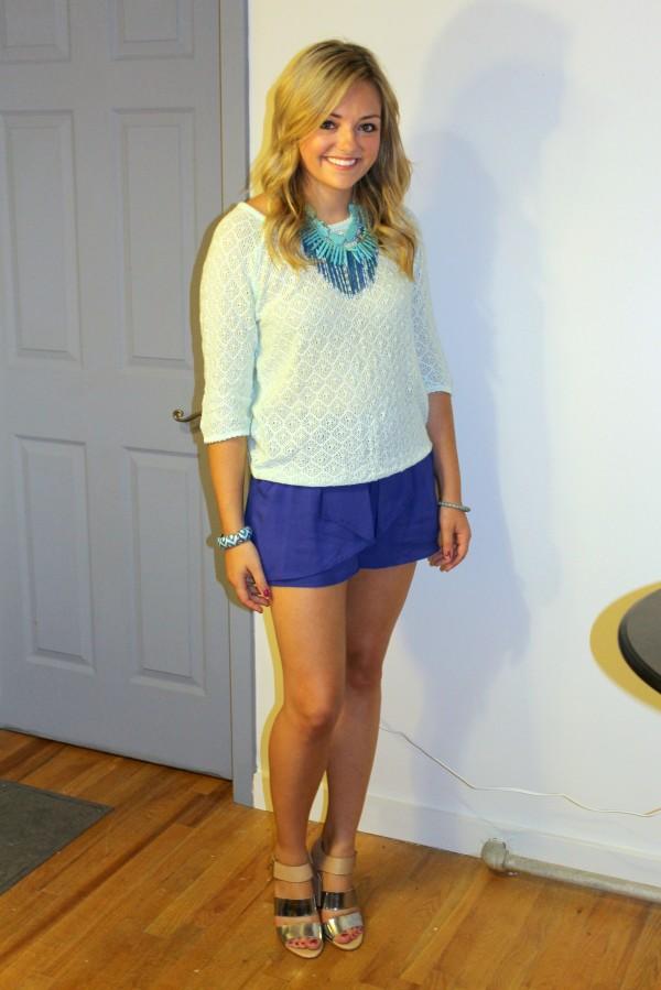 Cobalt Blue Shorts Hardon Clothes