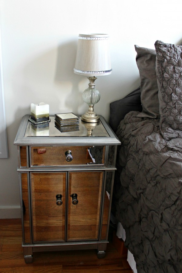 Nightstand Mirrored Nightstand
