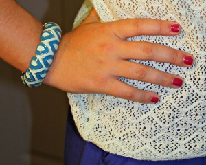 Sequin Jewelry Bangle