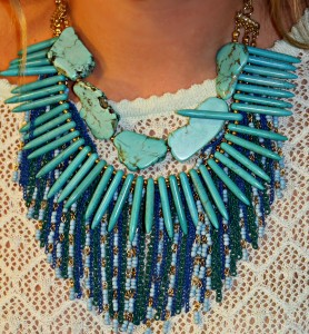 Sequin Jewelry Necklace