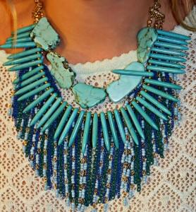 Sequin Jewelry Necklace