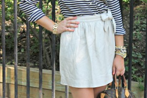 Skirt + Stripes 5