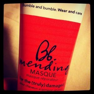 bumble bumble mending mask