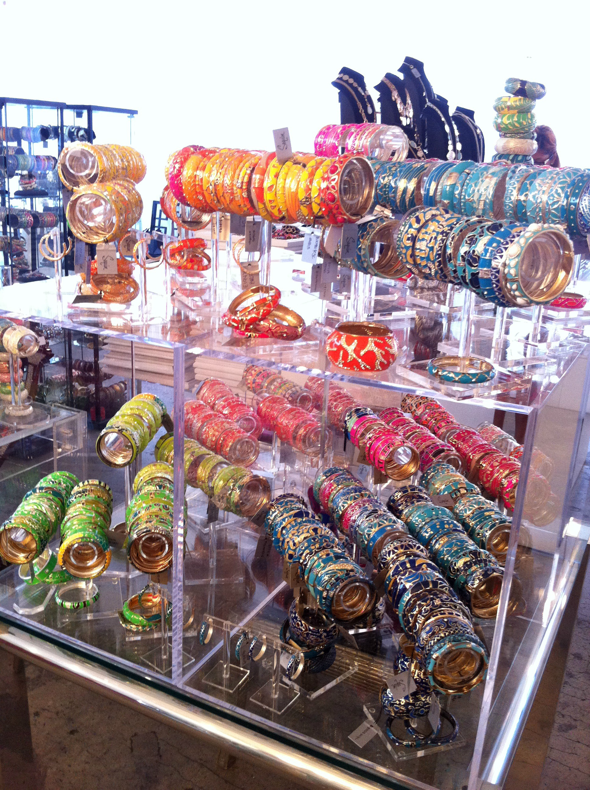 Souvenir Items: Sequin Bangles