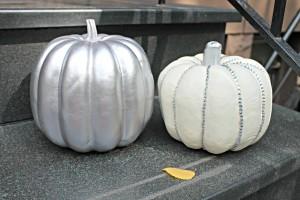 Silver DIY Pumpkin