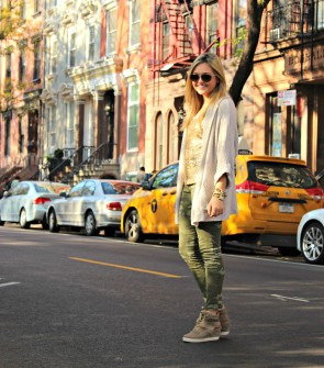Camo and Sneaker Wedges