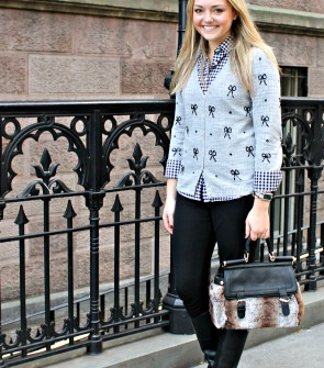 Layering a Shirt and Sweater