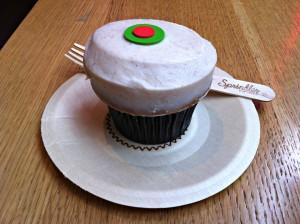 Sprinkles Pumpkin Cupcake