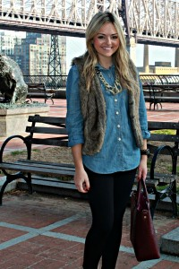 Chambray Shirt with Pixie Pants