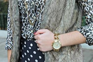 Leopard, Polka Dots, Faux Fur