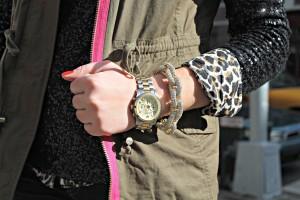 Bauble Bar Pavé Link Bracelet