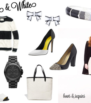 Black and White Spring Summer Trend