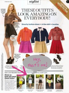 Bows & Sequins in Lucky Magazine Feb 2013