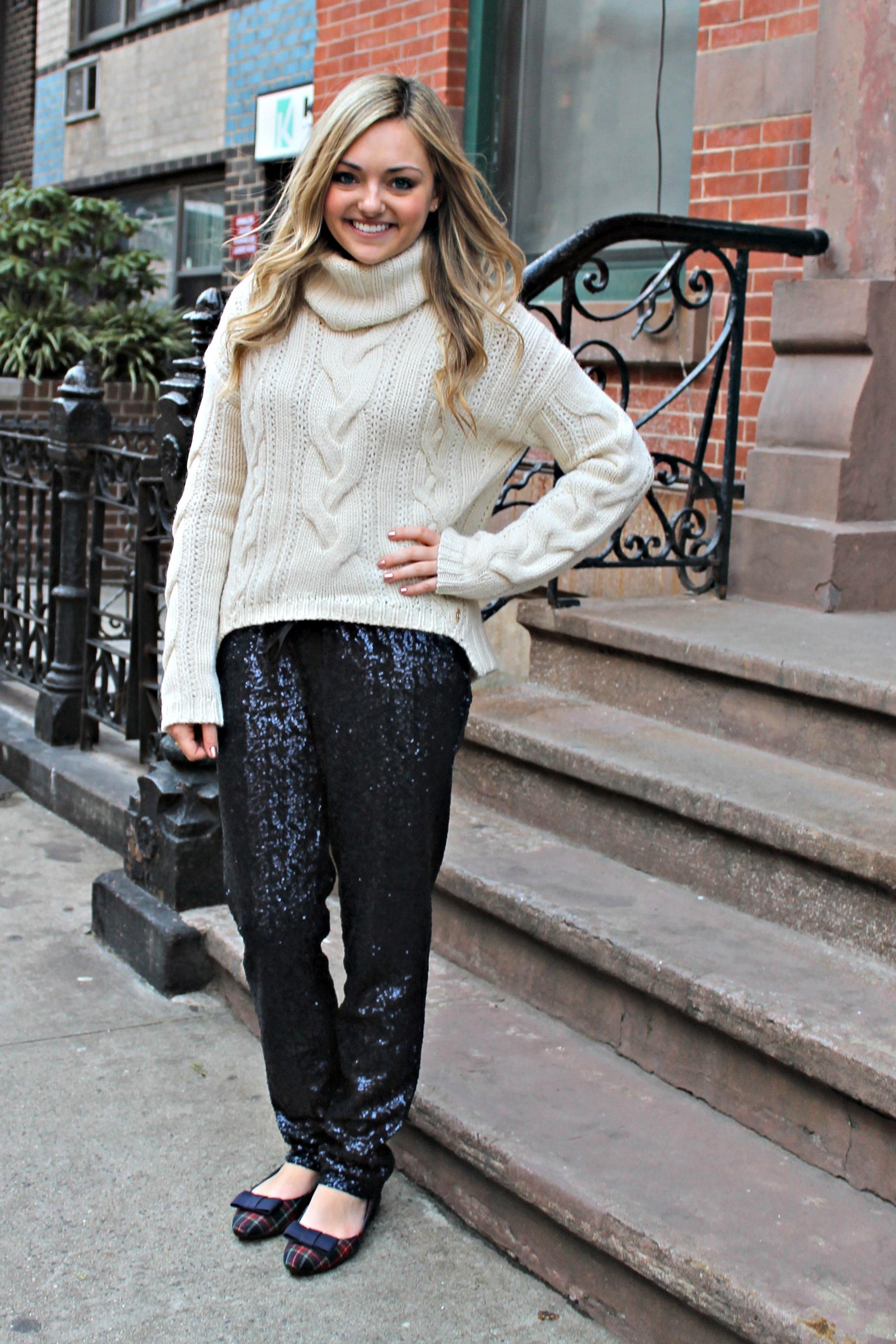 creative sequin pants for women