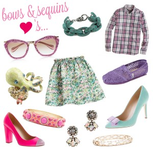 Bows & Sequins Spring Favorites