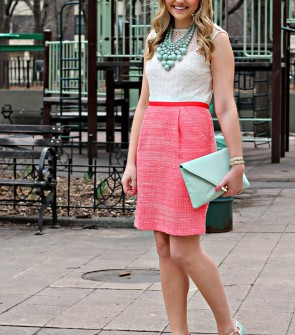 Coral & Mint for Spring