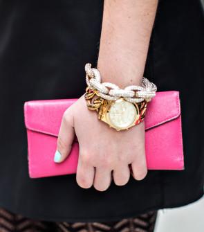 Chain Link Watch + Chain Link Bracelet