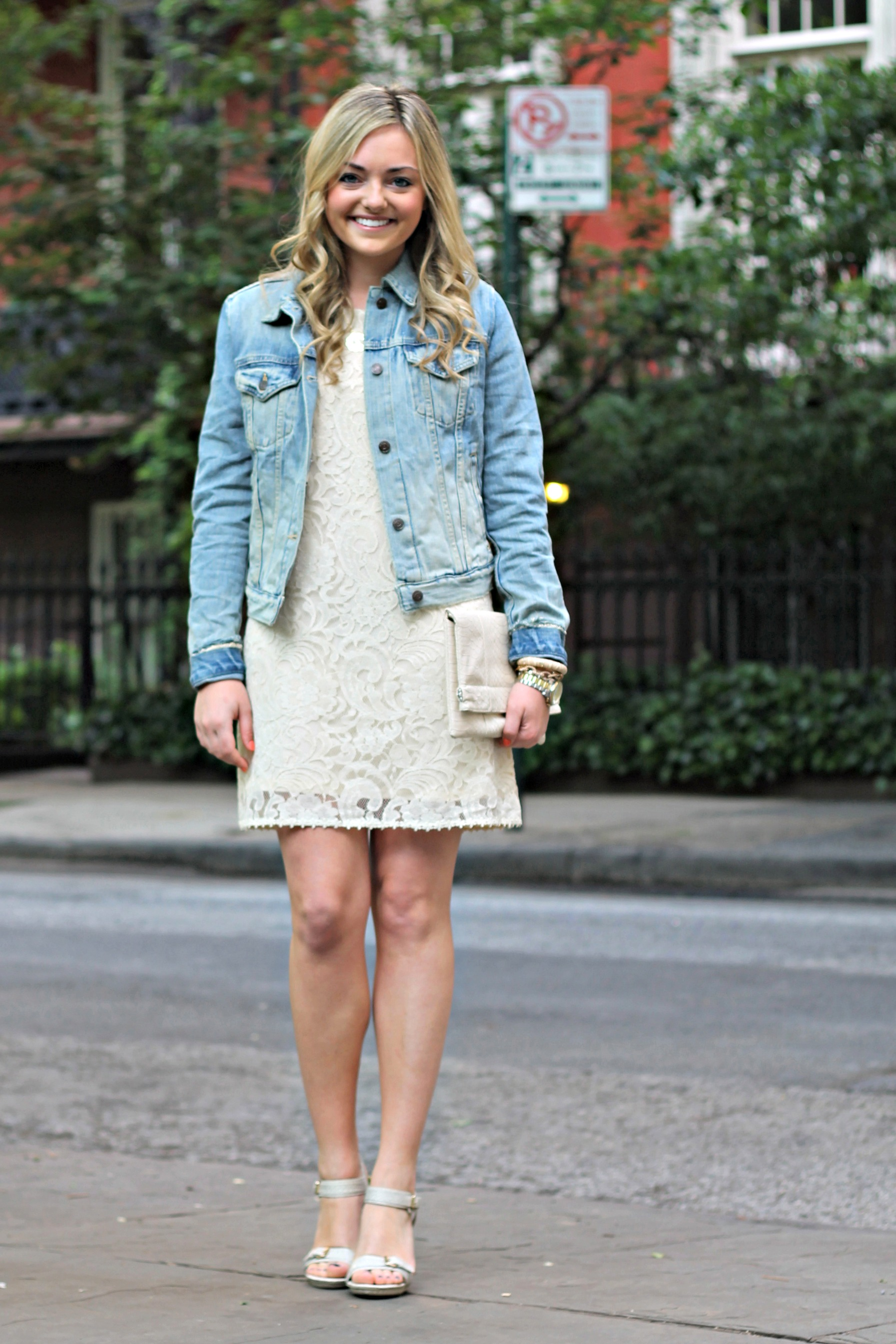 Denim Jacket With Dress - My Jacket
