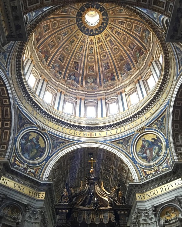I was absolutely blown away by St Peters Basilicia! hellip