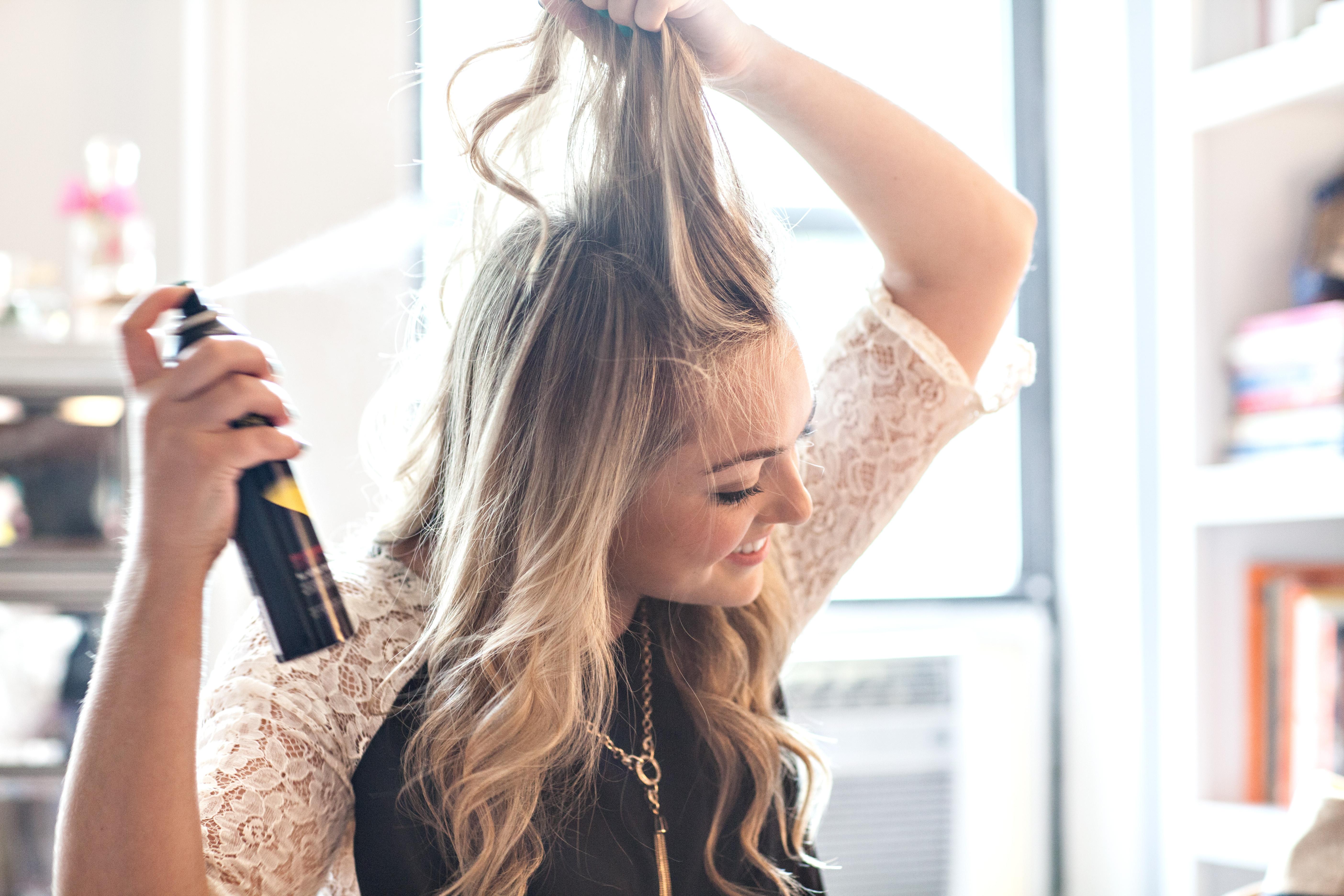how to wear dry shampoo