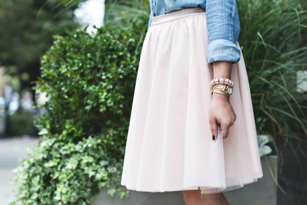 sex and the city tulle skirt