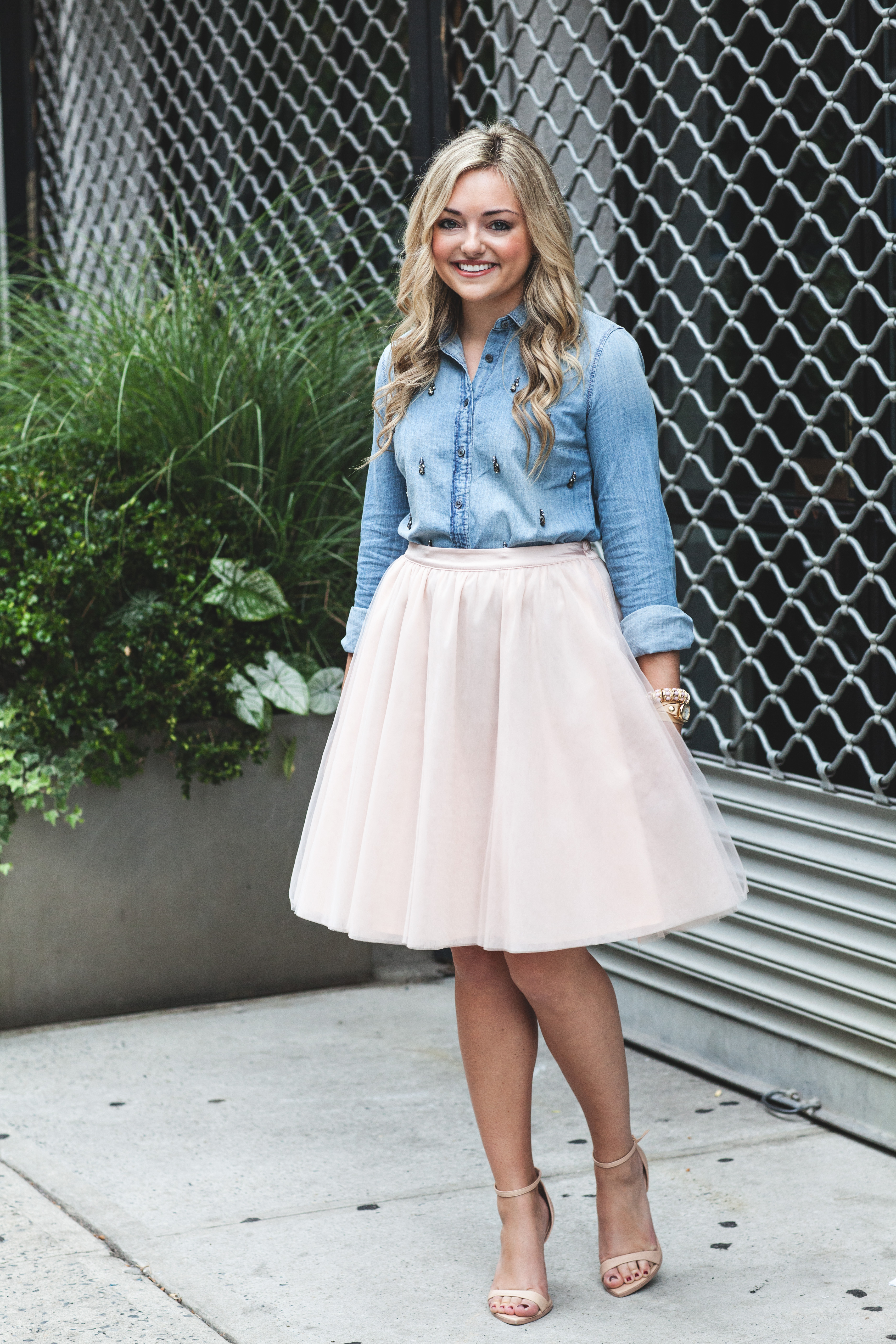 Sep 25,  · I wear denim shirts throughout the year and you gave me a few more ideas to add to my repertoire, like the suede skirt, camo leggings and cord pants. I happen to have all of those items, hadn't thought to pair with a denim shirt.