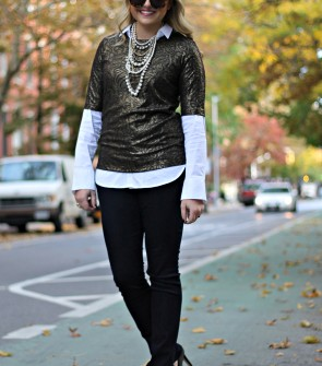 Ann Taylor Holiday Outfit
