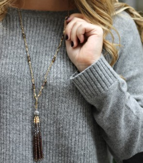 Capwell + Co Tassel Necklace