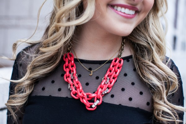 Statement Necklace, Neon Necklace