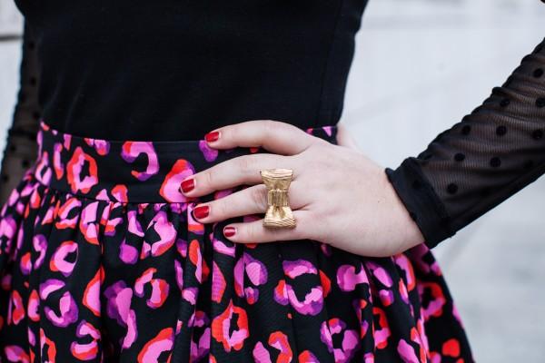 Bow Ring, Kate Spade, Valentine's Day Skirt, Cupcake Skirt