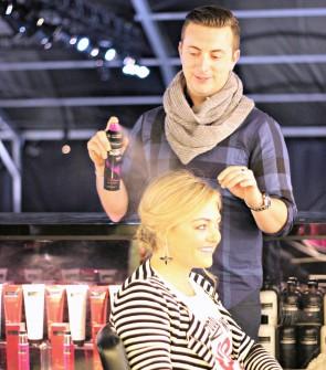 Tresemme Hairspray New York Fashion Week