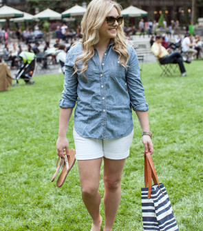 bryant park outfit summer