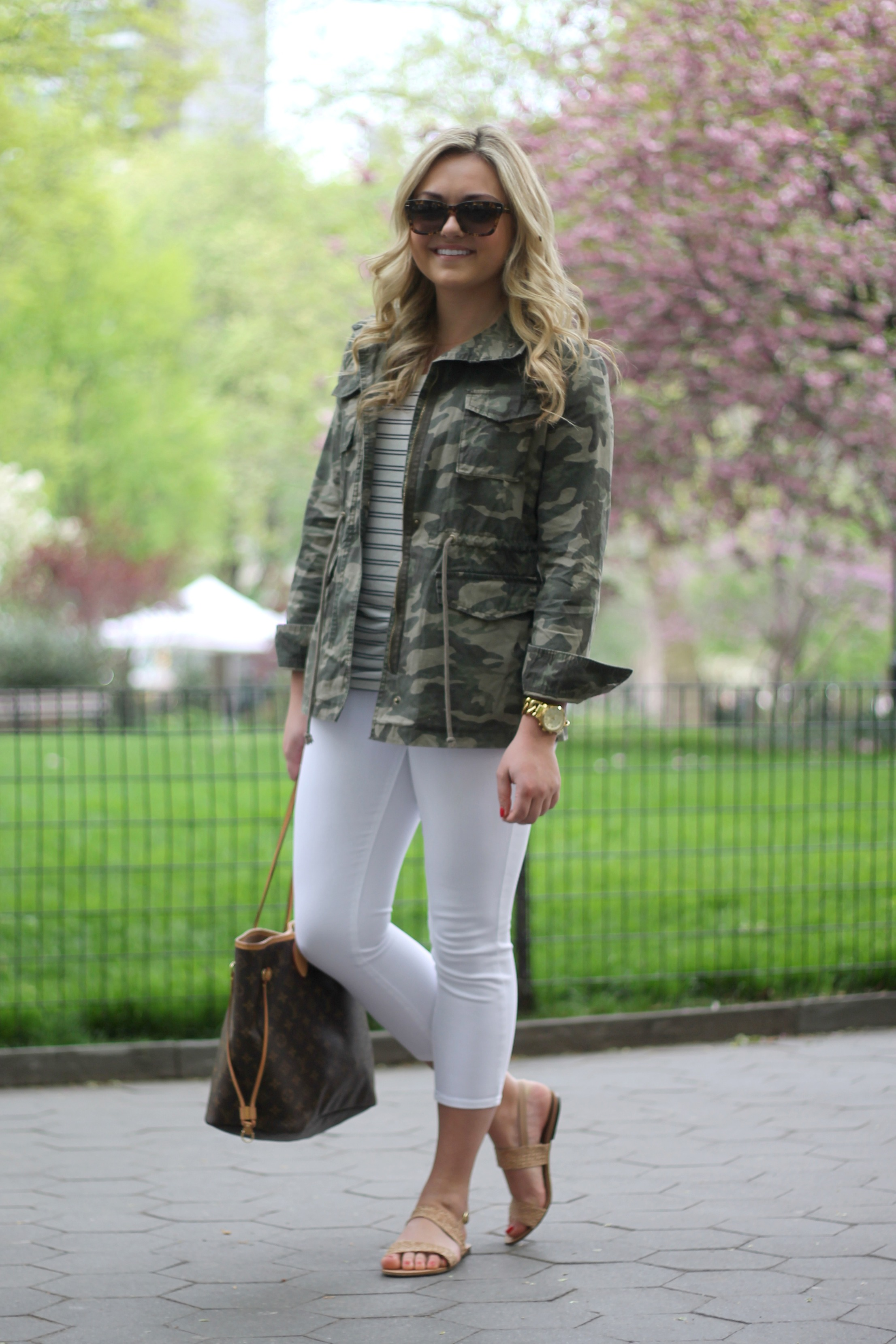 Dressed Up & Down: Cropped Pants — bows & sequins