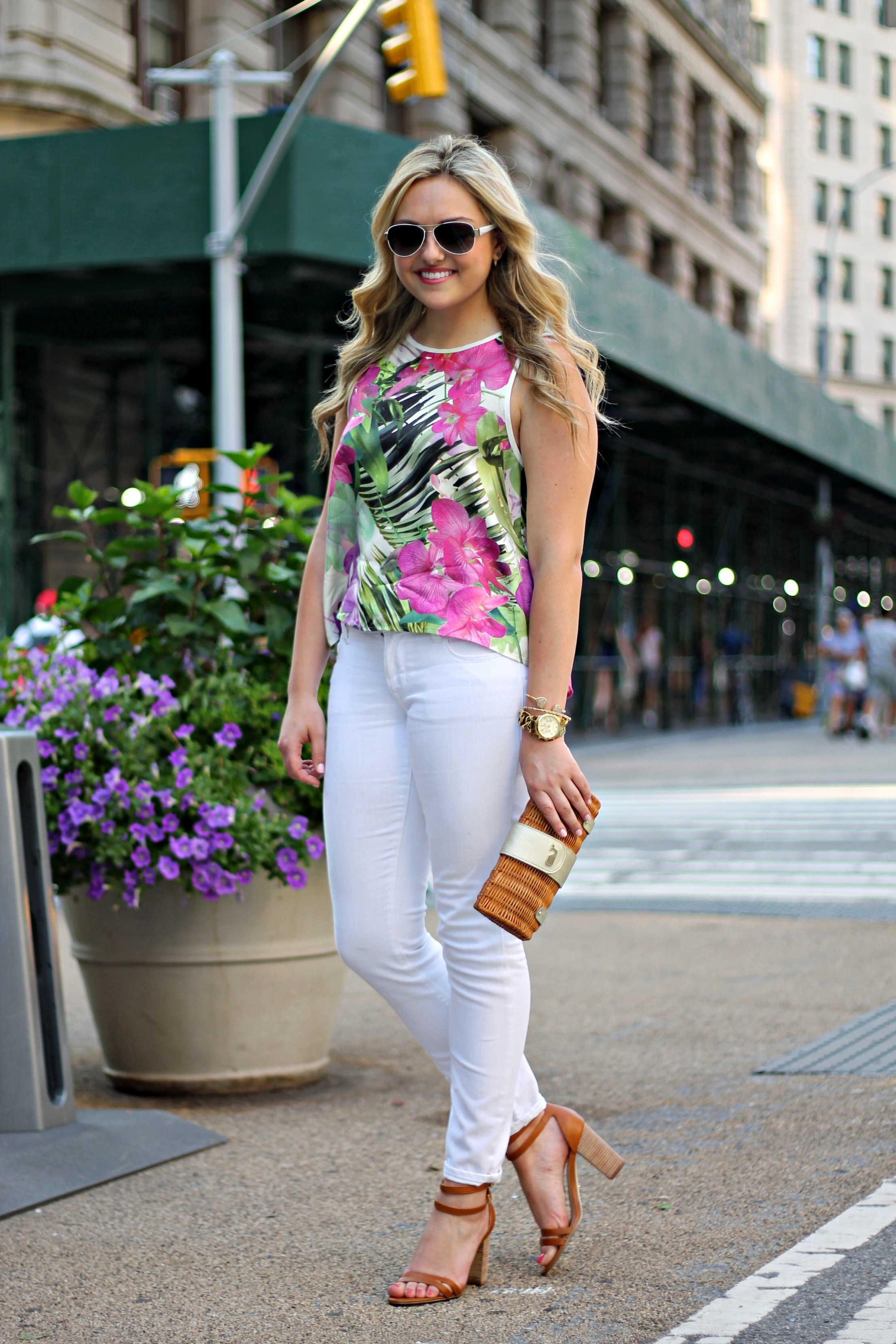 brilliant white pants outfit summer size