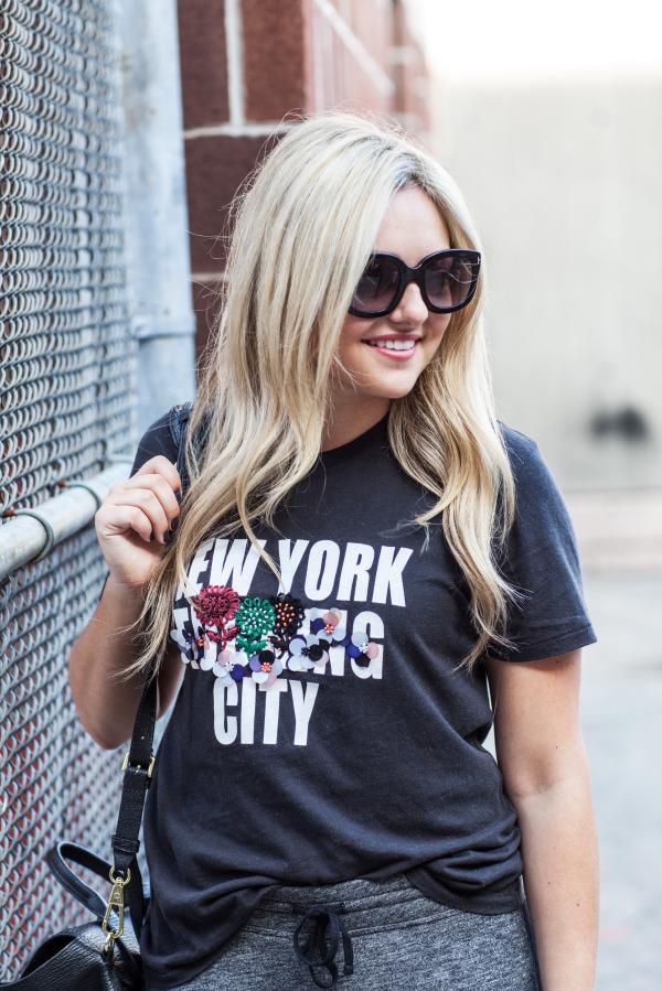 new york city graphic tee