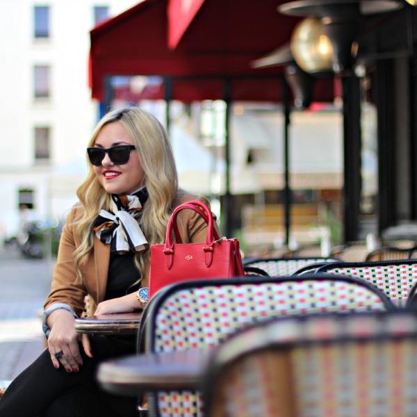 parisian cafe rue cler