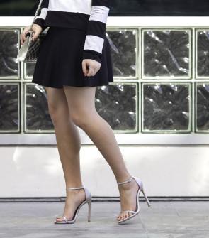 bcbg skirt stuart weitzman sandals