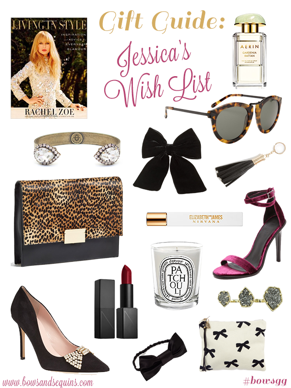 bows and sequins gift guide wish list 2