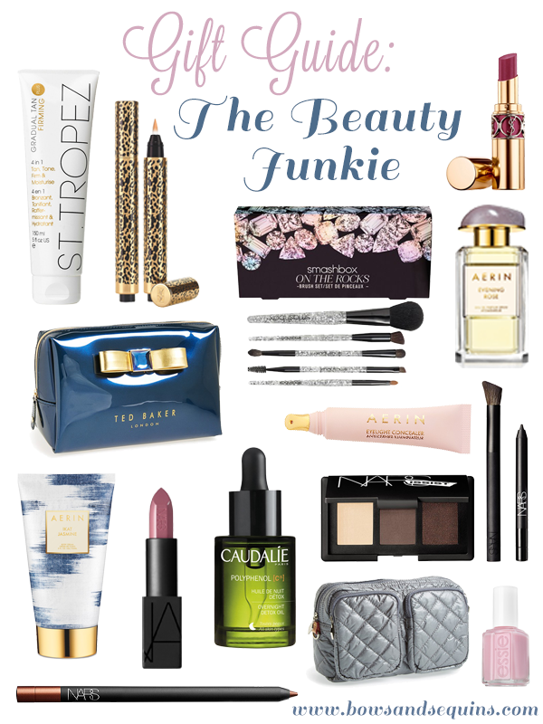 gift guide for the beauty junkie guru