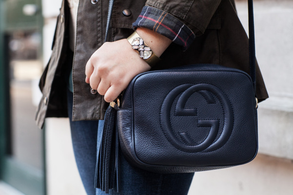 gucci disco navy