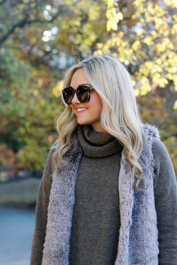 karen walker sunglasses theory sweater tart collection vest
