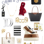 Gift Guide: Monograms