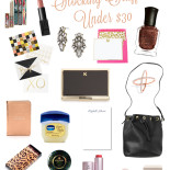Gift Guide: Stocking Stuffers Under $30