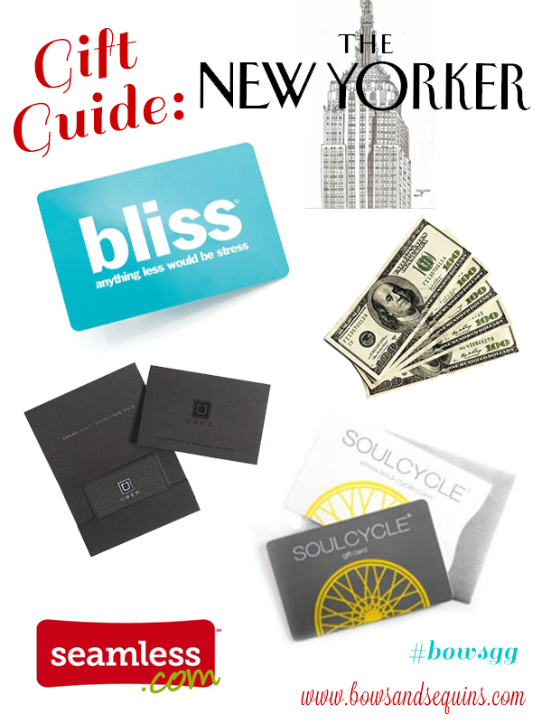what to buy a new yorker for christmas