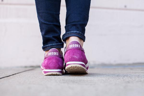 Brooks Pink Sneakers