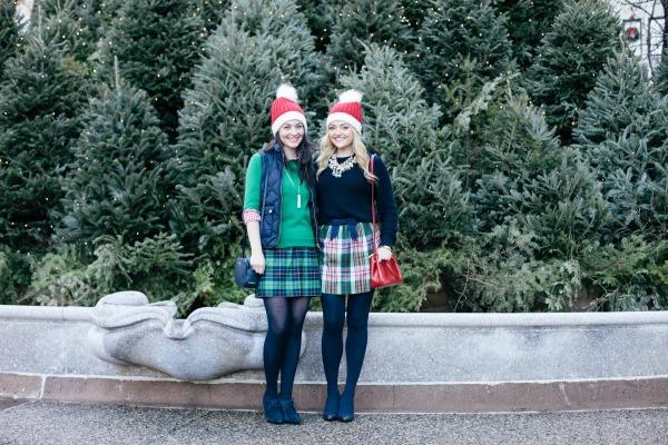 cute christmas outfits plaid