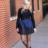 Party Skirt + Sweater