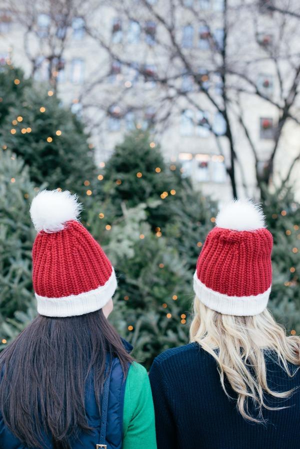 kate spade oh joy santa hat